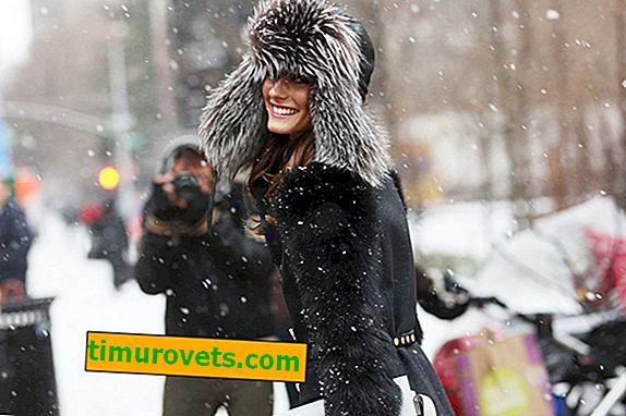 Quoi porter un chapeau de femme avec oreillettes (photo)