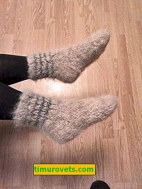 Nogavice iz pasje volne, njihove prednosti