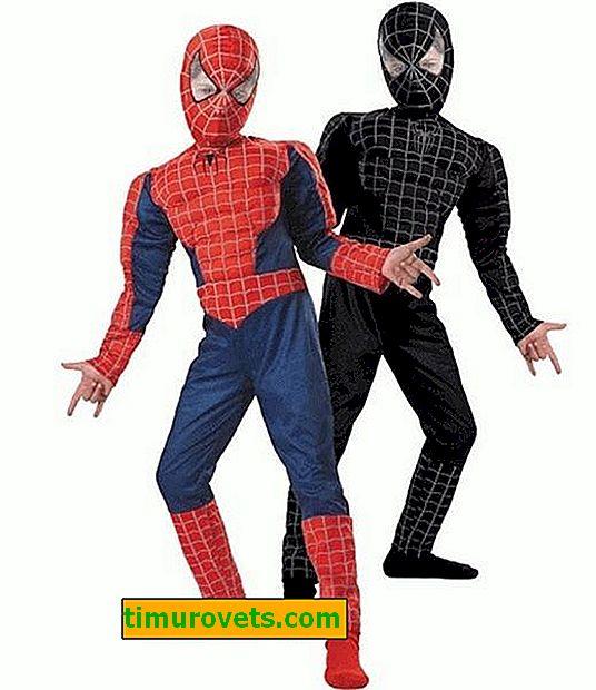 Napravite paukov kostim za dječaka