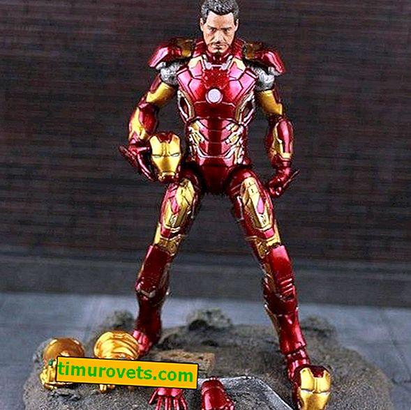 Wie man ein Iron Man Kostüm macht
