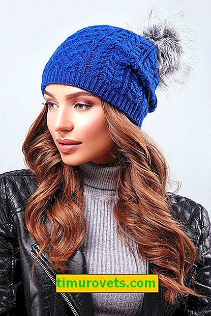 Какво да облечем със синя шапка