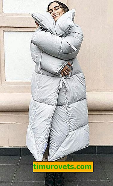 How to sew a down jacket (pattern)