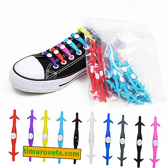 Silicone shoelaces: is the fashion trend practical