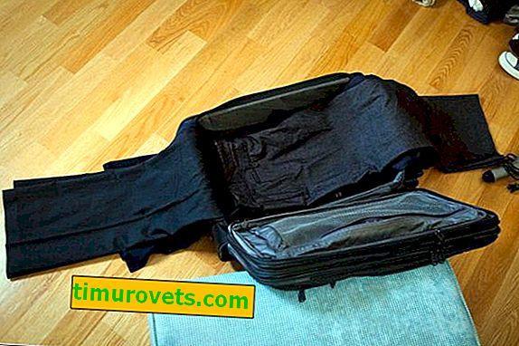 Как да сложим костюм в куфар?