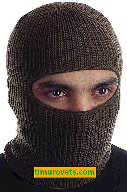 Як називається шапка з прорізами для очей