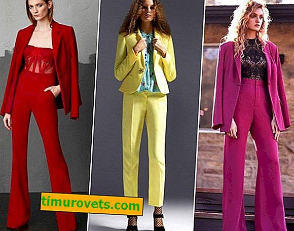 Tailleur pantalon femme 2018-2019 (photo)