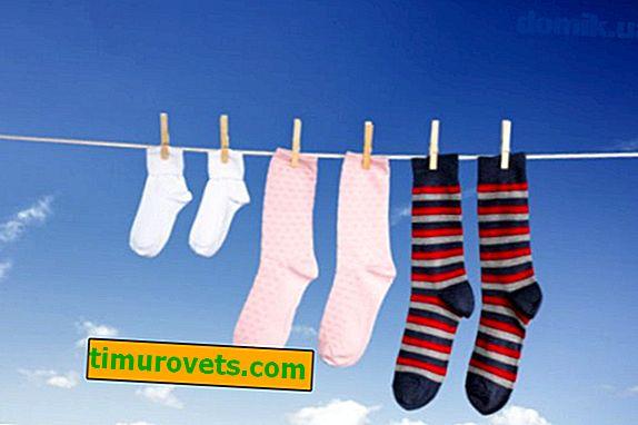 Ako rýchlo vysušiť ponožky
