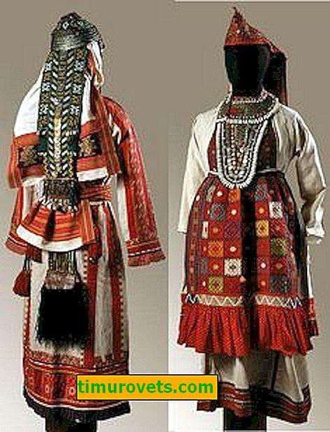 Materiał, z którego Ostyacy zrobili strój narodowy