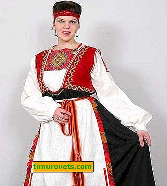 Državna noša Karelcev (fotografija)