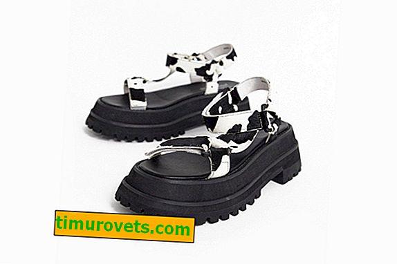 Грозни сандали - тенденцията на лято 2019