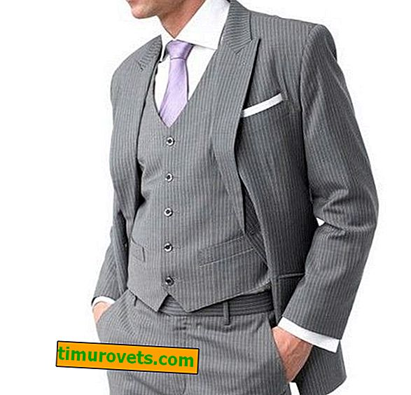 Каква риза да се облече със сив костюм