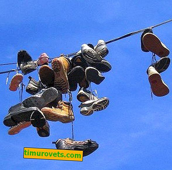 Boty na drátech: co to znamená