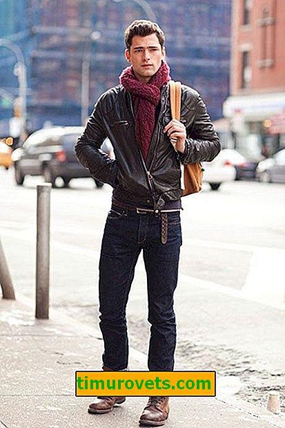 Hvordan mænd bærer høje støvler med jeans