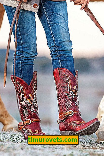 Cowboy boots: what to wear fashionable shoes in the fall of 2019