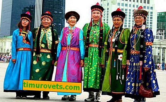 Buryat národní kroj