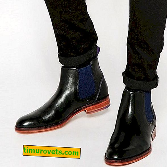 Kako nositi muške čizme za chelsea