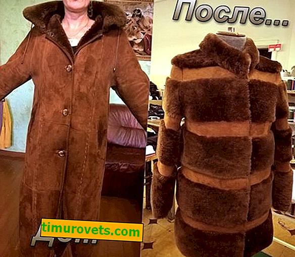 Cómo alterar un abrigo de piel de oveja: soluciones modernas y elegantes