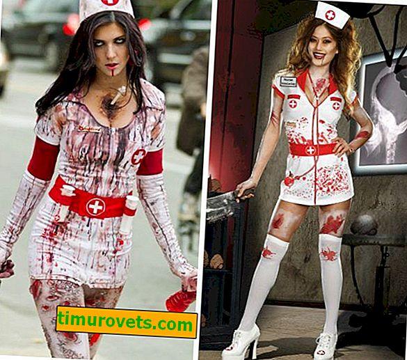 Déguisement d'halloween d'infirmière à faire soi-même