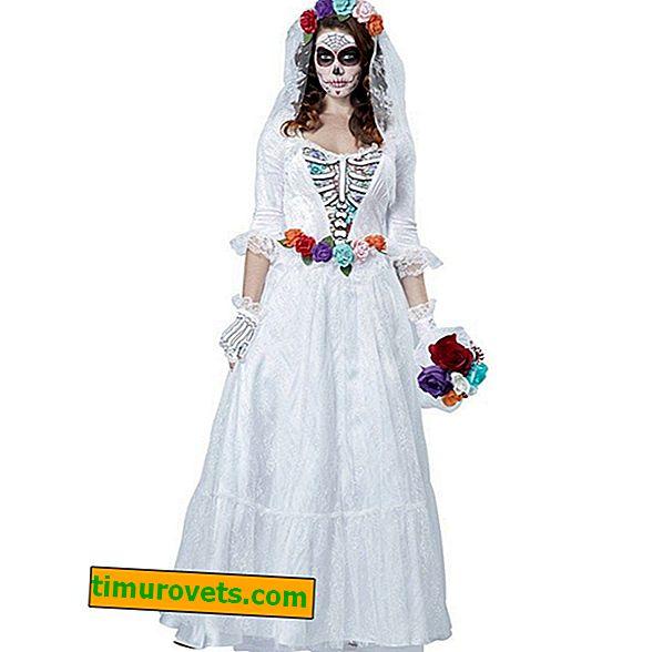 DIY brudekostyme til Halloween