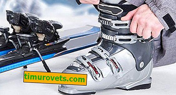Wie wählt man Skischuhe