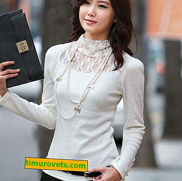 Wat te dragen met een witte coltrui voor dames