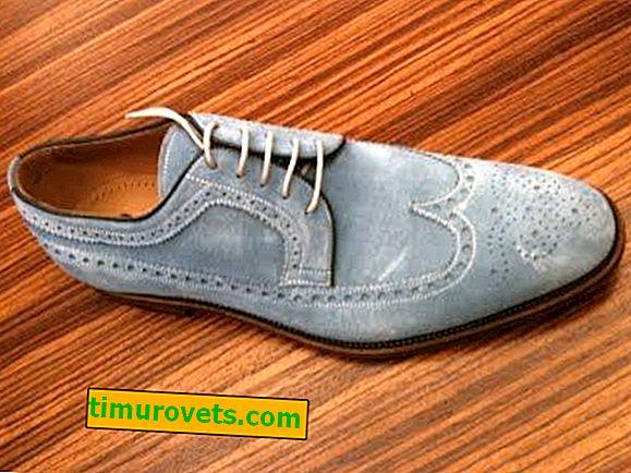 Как да почистите велурени обувки у дома
