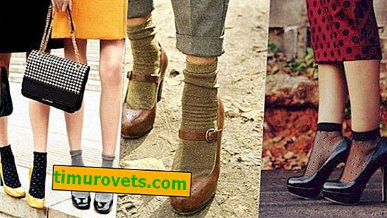 Comment les femmes portent des chaussettes avec des chaussures