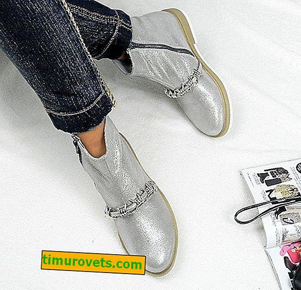 Kako nositi srebrne čizme
