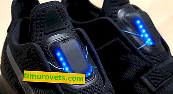 Smart PUMA sneakers with automatic lacing