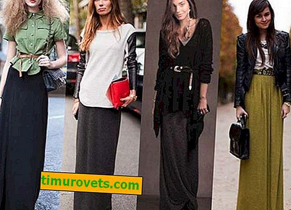 Comment porter des bottes et une jupe longue?