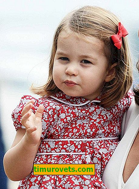 Модна звезда: какво носи принцеса Шарлот
