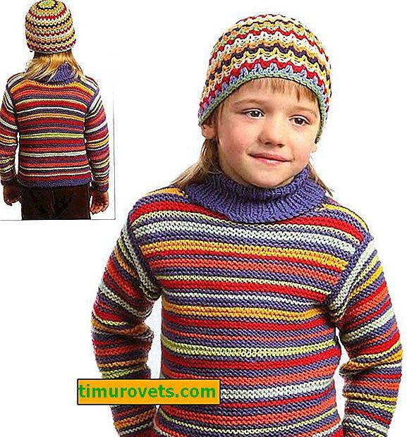 Kvačkanje pulover za dečka