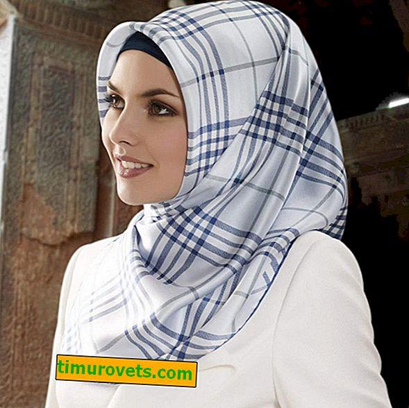 Wie man einen Hijab schön bindet
