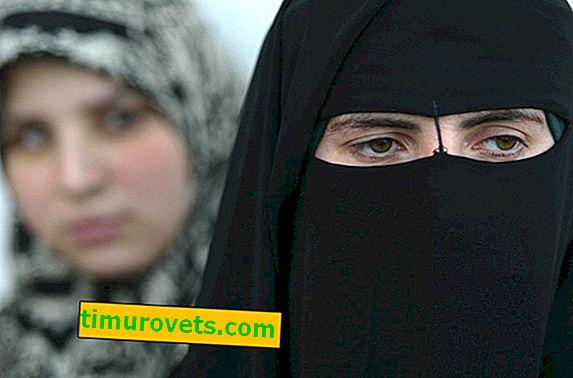 Каква е разликата между хиджаб и бурка?
