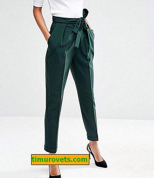 Sådan bruges grønne bukser