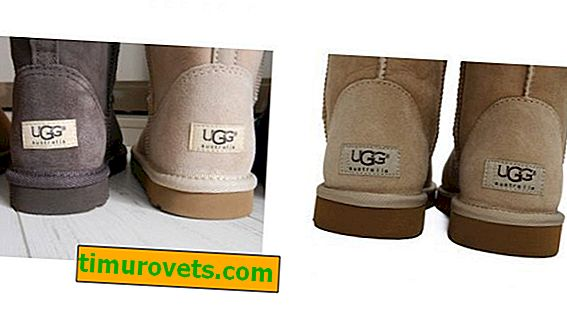 How to distinguish ugg boots from a fake