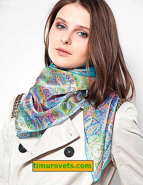 Verfijnde opties om een sjaal om een nek te binden
