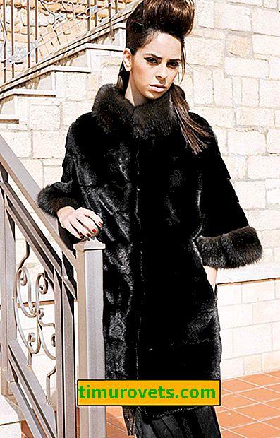 Какво е кожено палто от черно
