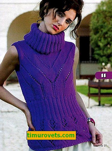 Как се нарича пуловер без ръкави?