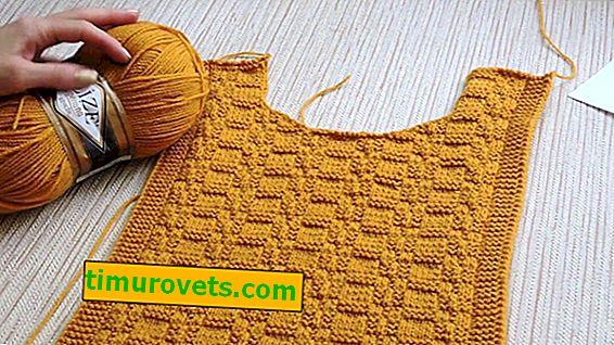 Pletené vesty pro ženy s nadváhou s pletacími jehlicemi (háčkování)