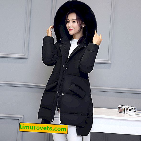 How to wear a black down jacket
