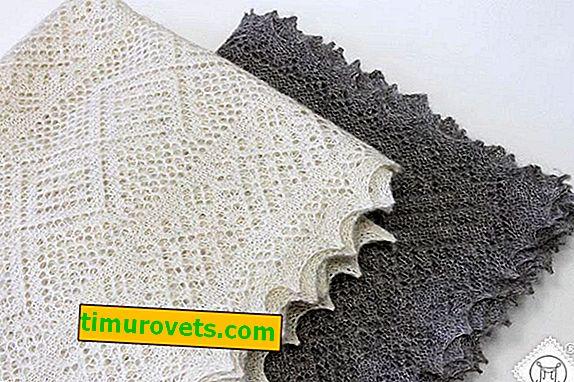 Как да измиете шал с пух вкъщи