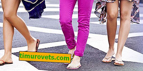 Zašto ne biste trebali dugo nositi papuče i škriljevce.  Zdravlje stopala