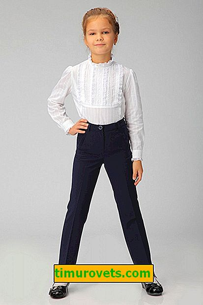 Pattern trousers for girls