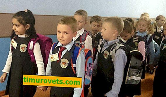 Kako šivati amblem na školskoj uniformi i prsluku?
