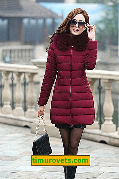 What to wear with a burgundy down jacket