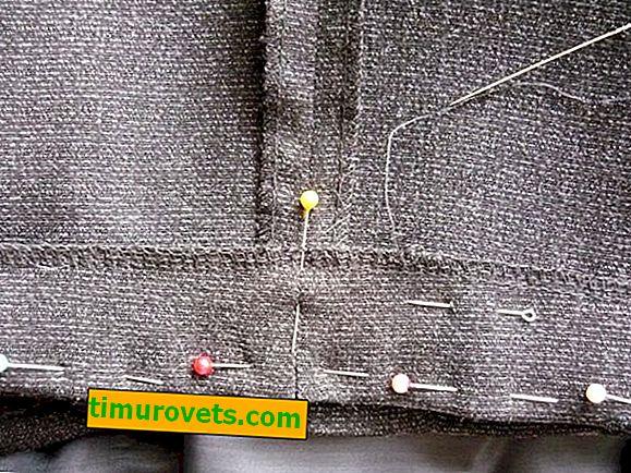 Kako ručno zašiti hlače