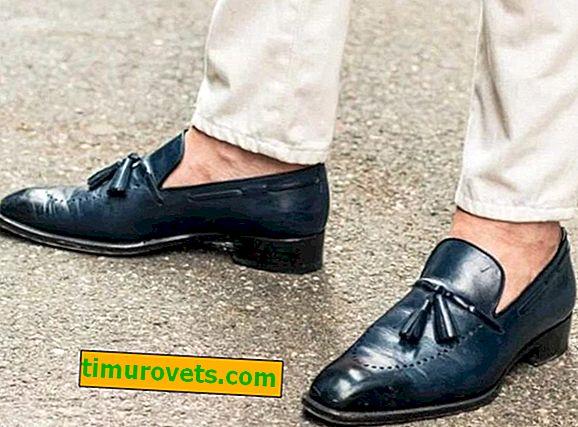 Какви мъжки обувки се носят без чорапи?