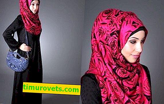 ¿Cómo atar una bufanda de manera musulmana en la cabeza?