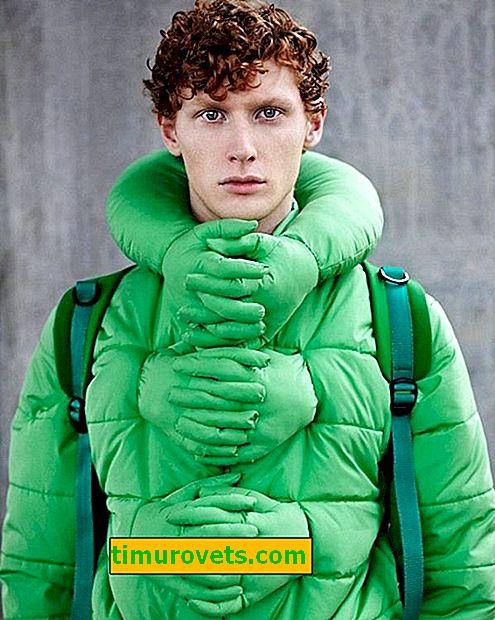 Sådan bruges en grøn dunjakke
